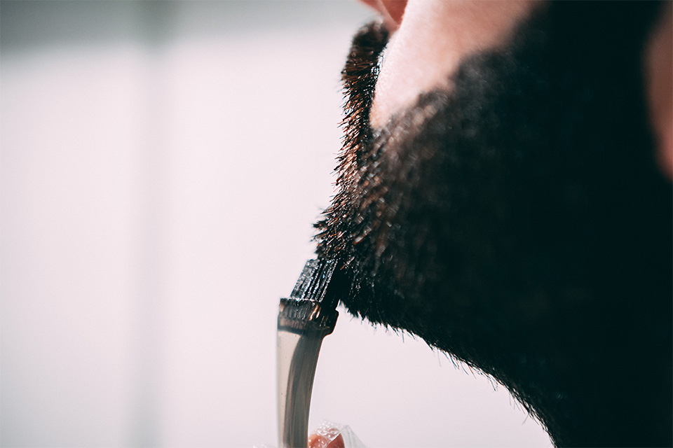coloration pour barbe just for men test avis application