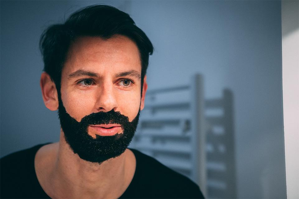 coloration pour barbe just for men test avis pose