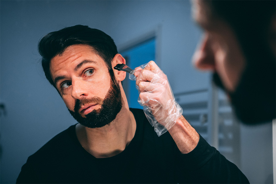 coloration pour barbe test avis