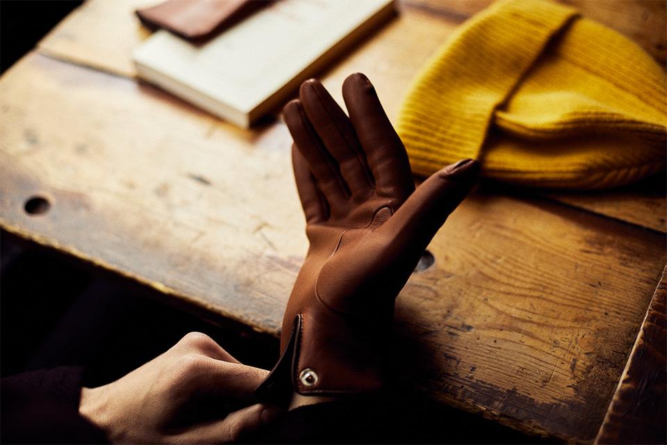 Conseils gants cuir homme