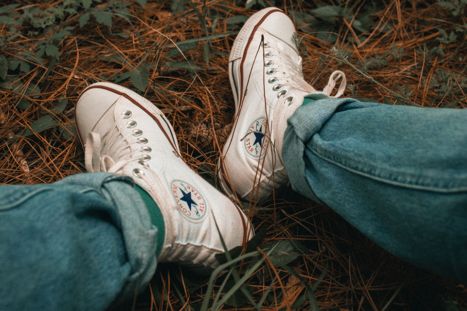Converse All Star Blanches