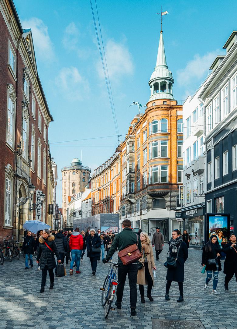 Copenhague shopping Stroget