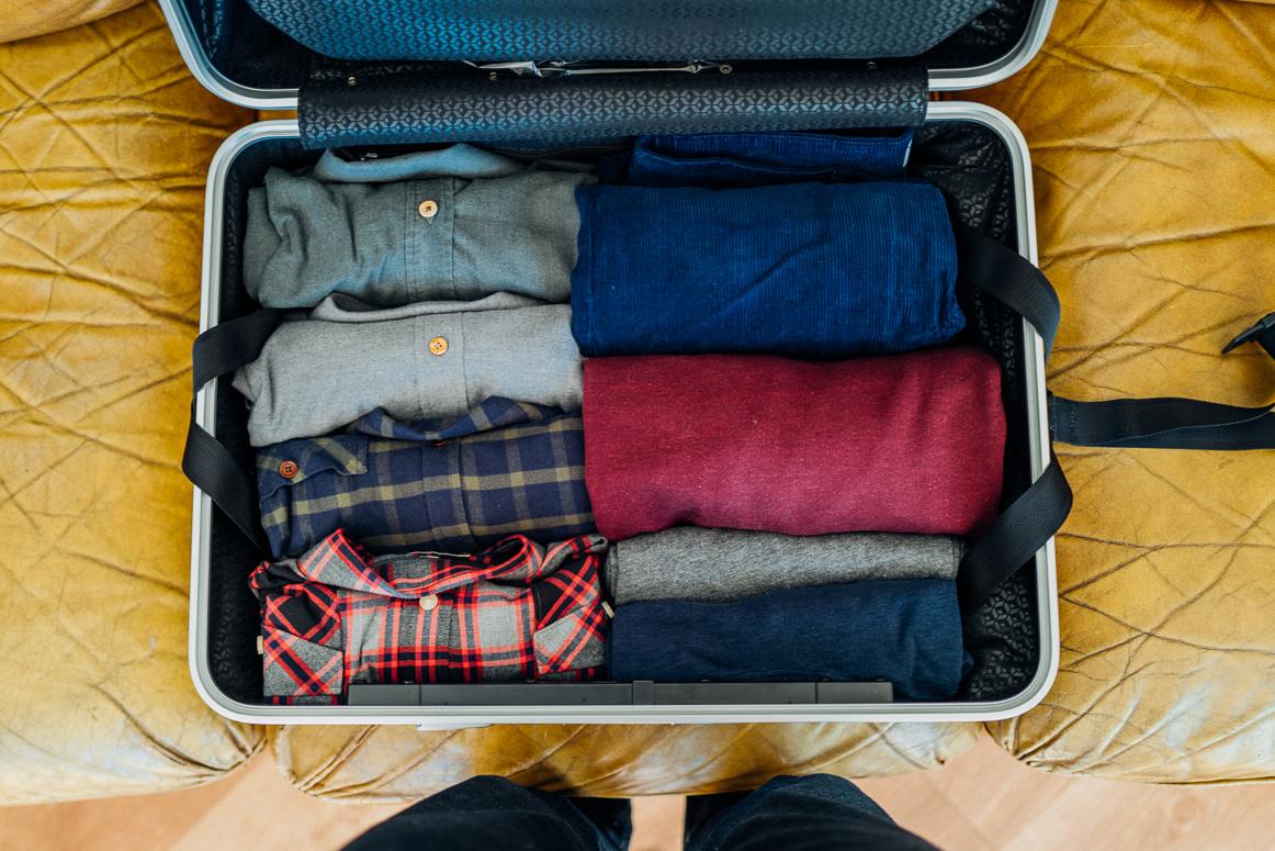 Copenhague valise chemises