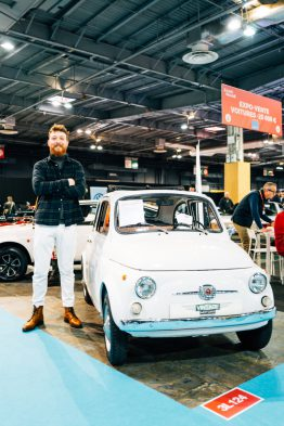 Fiat 500 Rody Retromobile