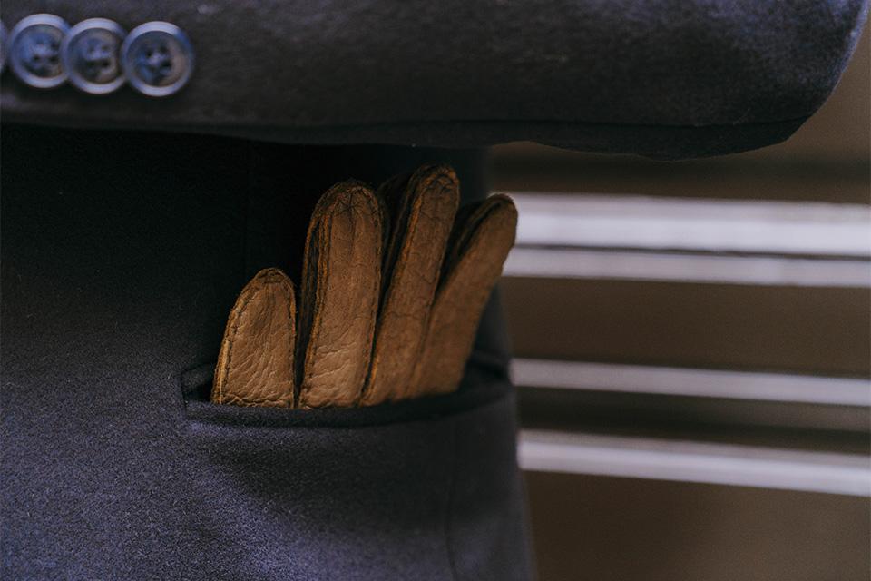 Gants cuir qualité homme
