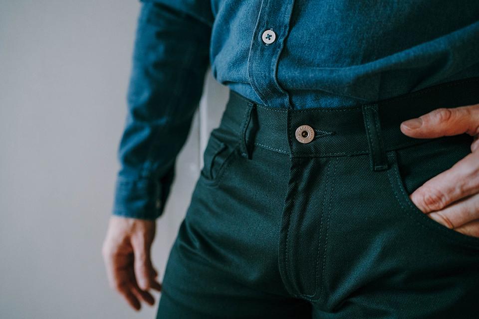 Pantalon Lepantalon Bouton