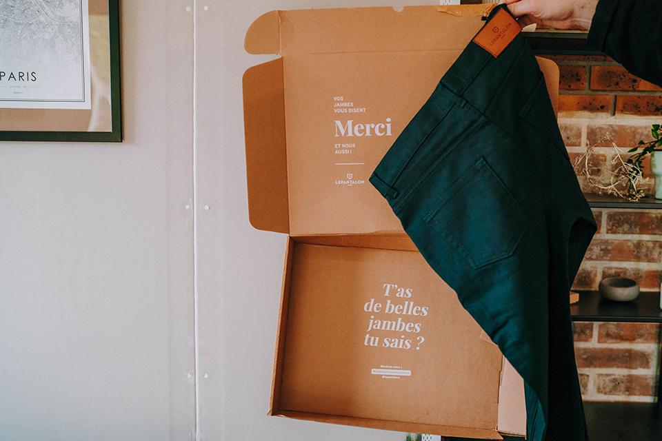Pantalon Lepantalon Cinq Poches Boite