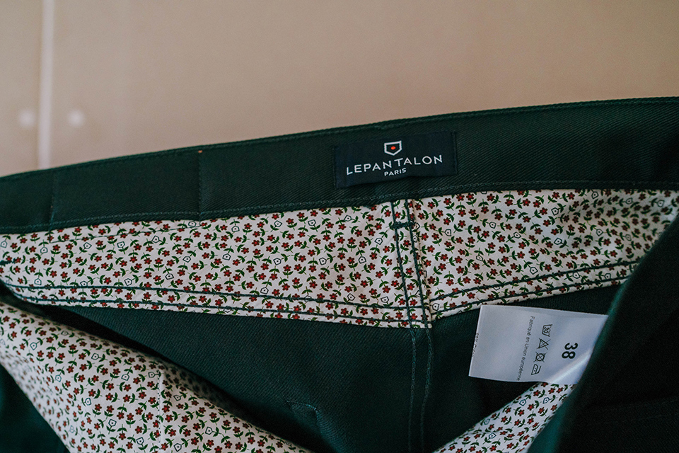 Pantalon Lepantalon Cinq Poches Etiquette