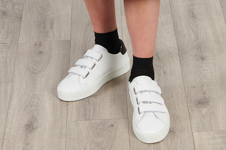 Sneakers Blanches Saint Valentin