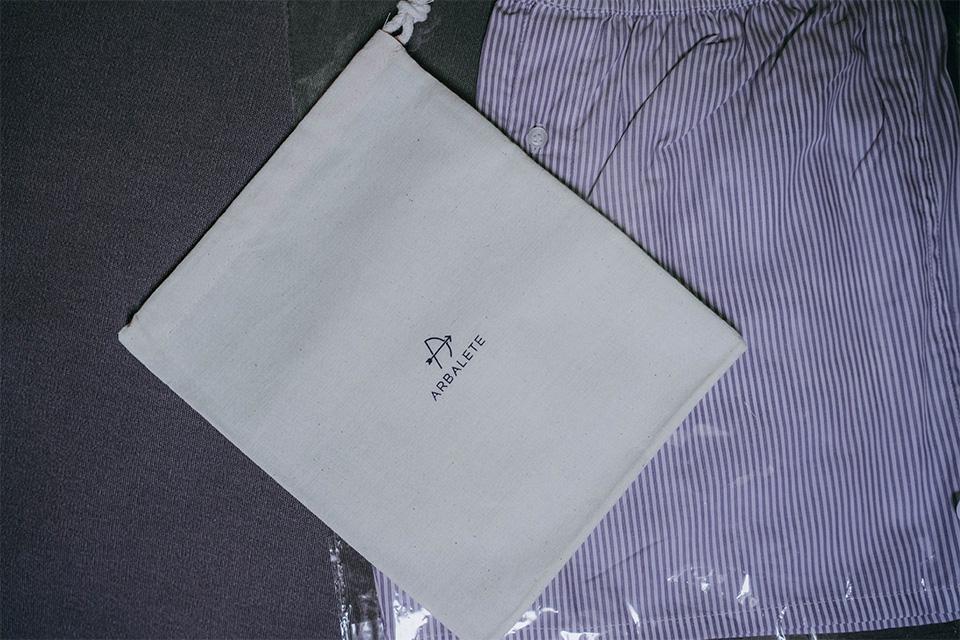 test avis caleçon arbalete packaging