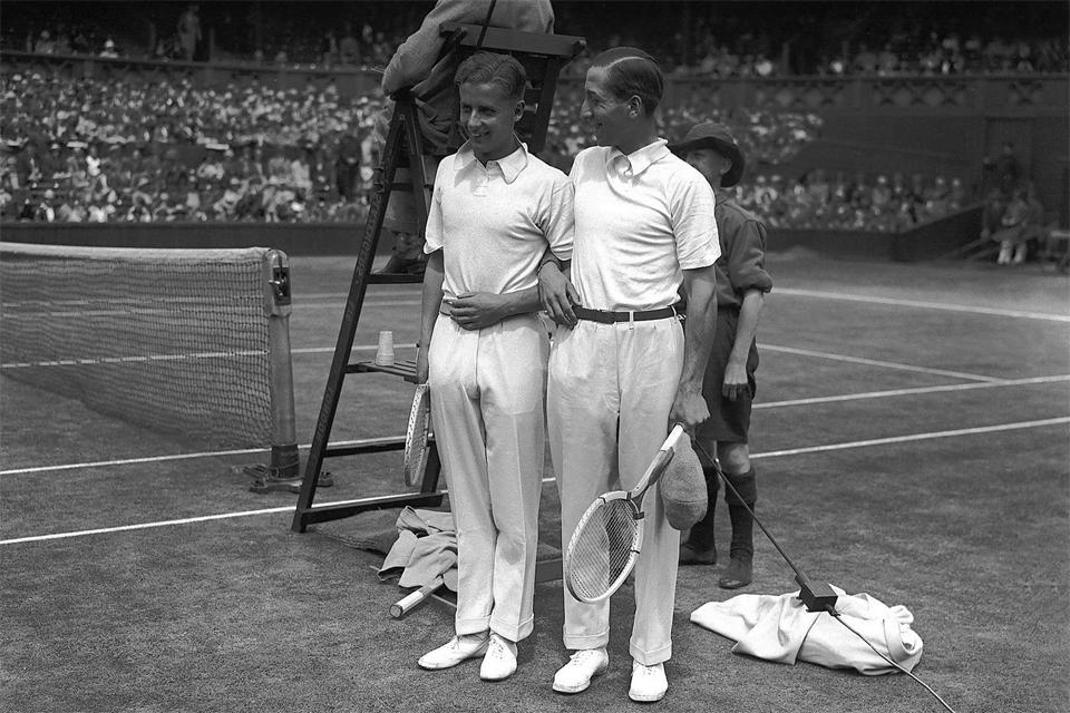 René Lacoste Wimbledon