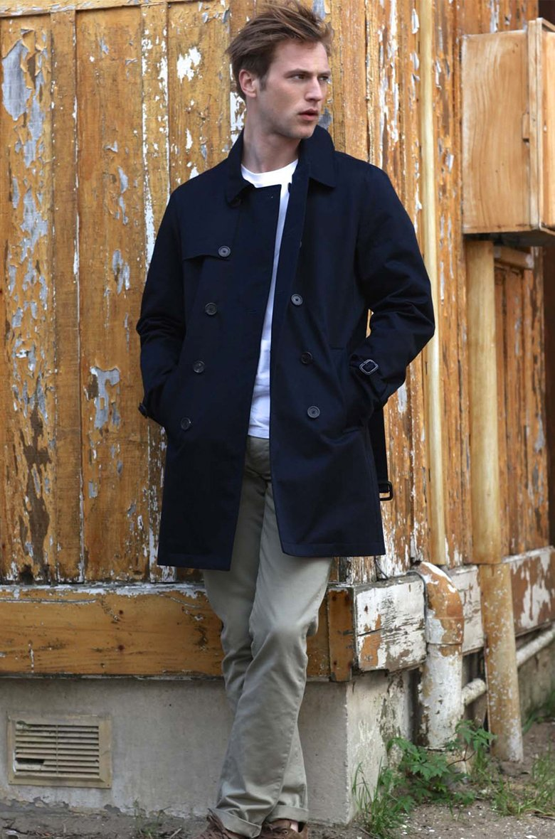 montlimart trench homme
