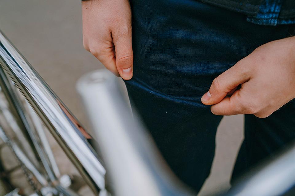 Chin Lepantalon vélo