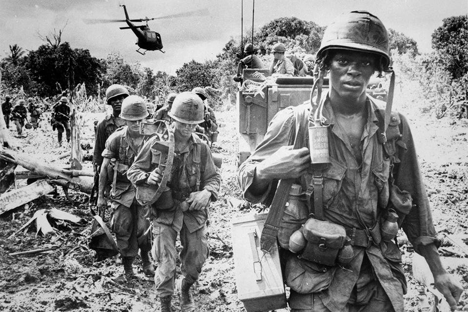 Guerre vietnam jungle-jacket