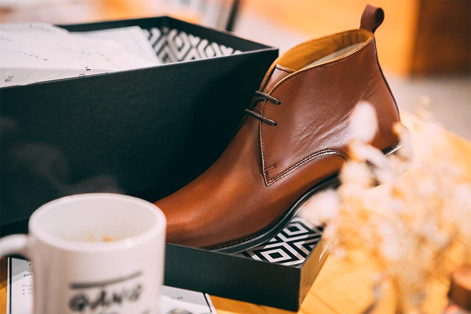 Présentation Boite Chaussures