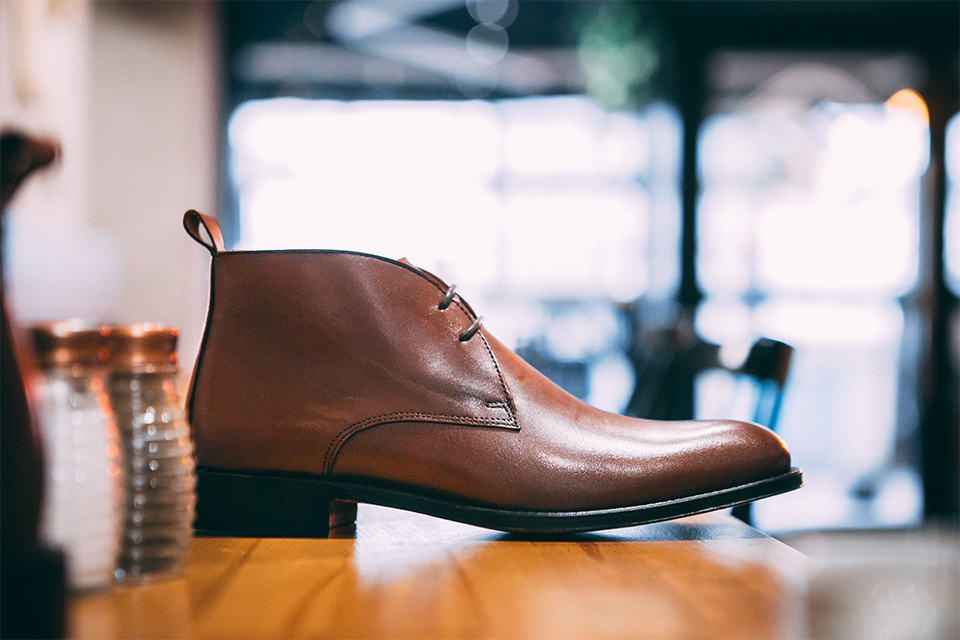 Différents Types Chaussures Cuir