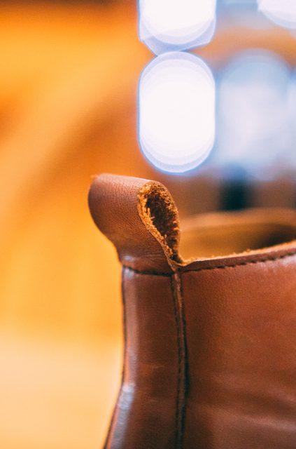Languette Chaussures Cuir