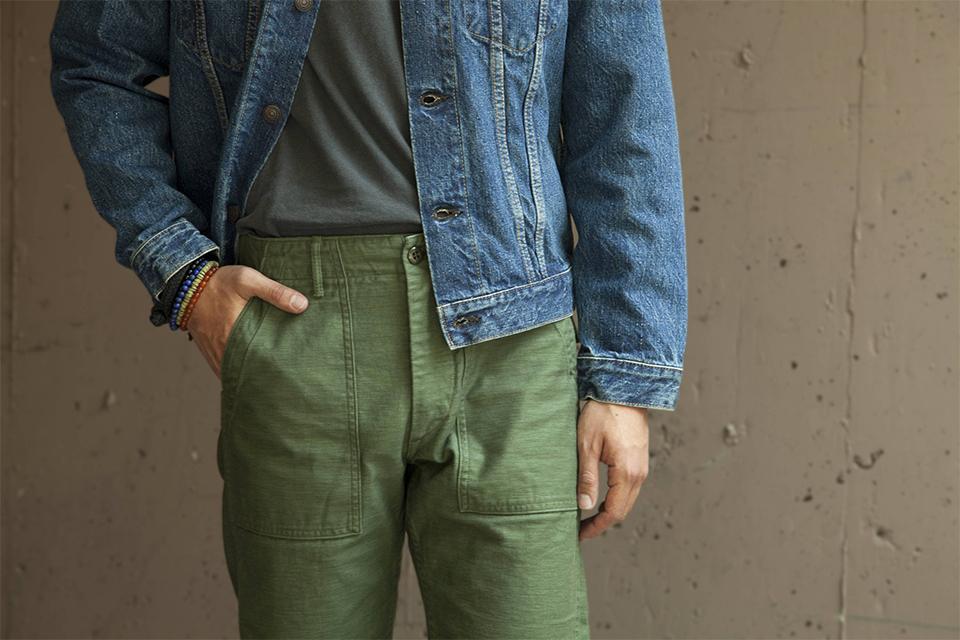 Orslow fatigue pants