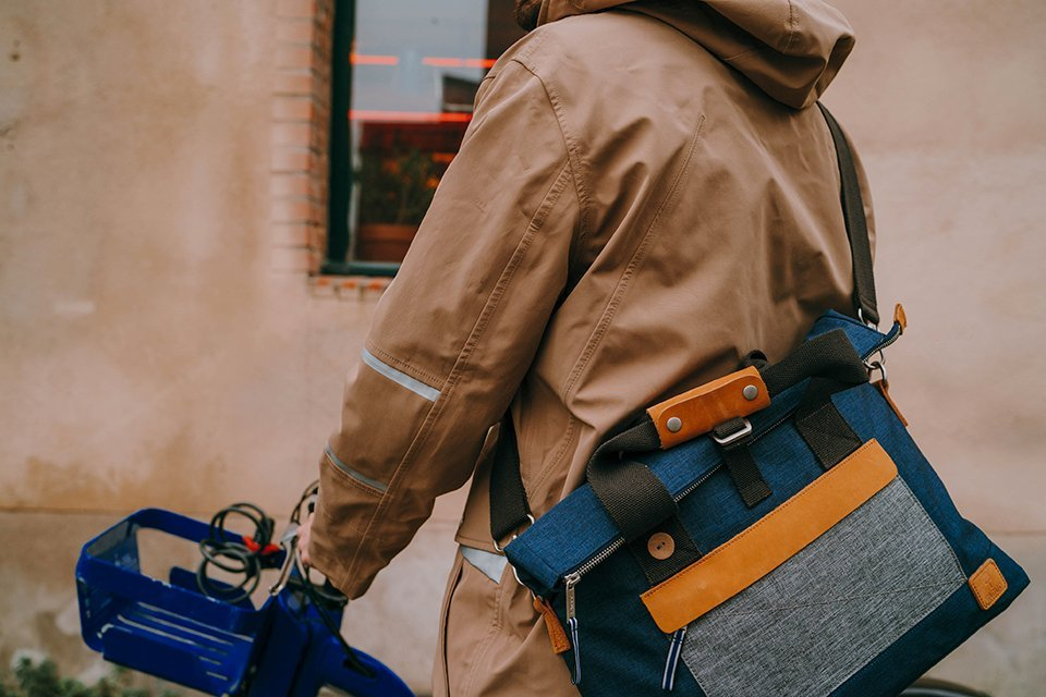 parka sac vélo homme