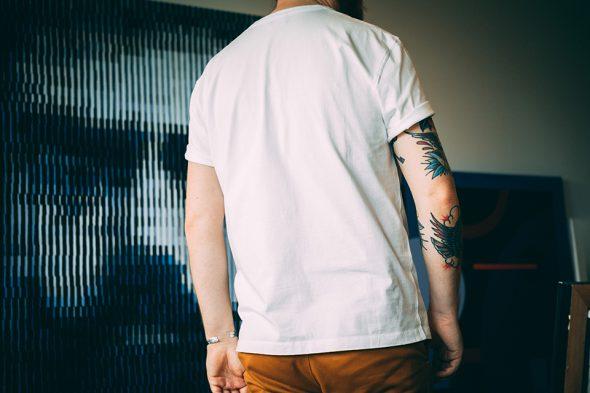 Tshirt Asphalte Dos