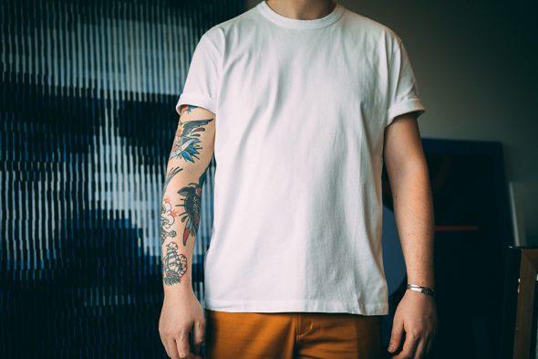Tshirt Asphalte Rody Porte Face
