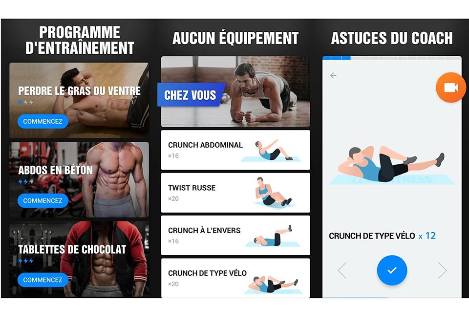 visuel application des muscles abdominaux en 30 jours 2020