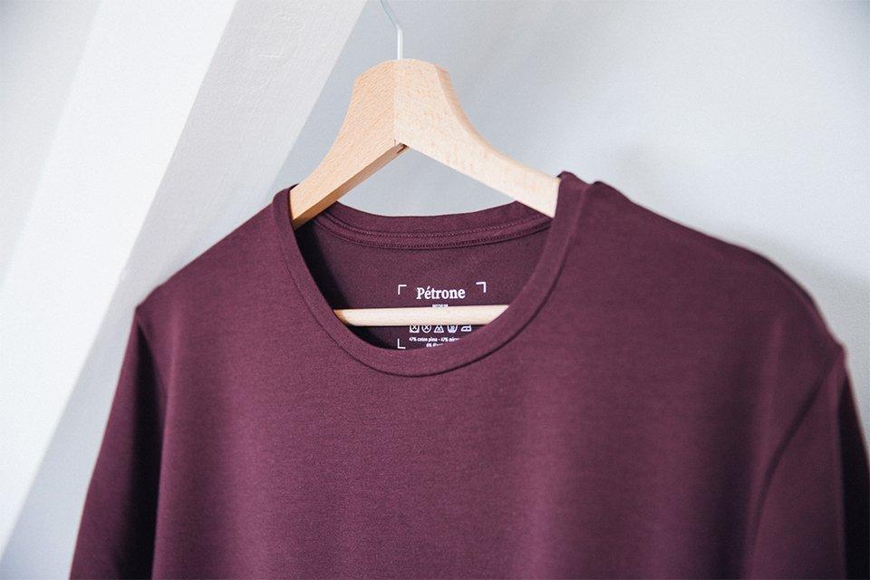 T-Shirt Lie de Vin