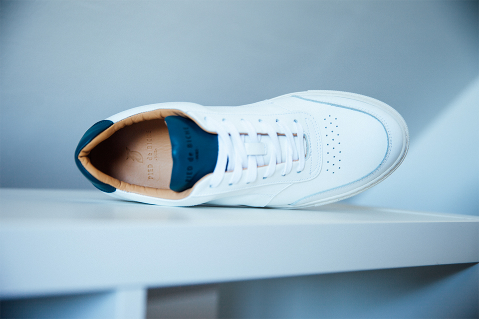Chaussures Blanches Tennis