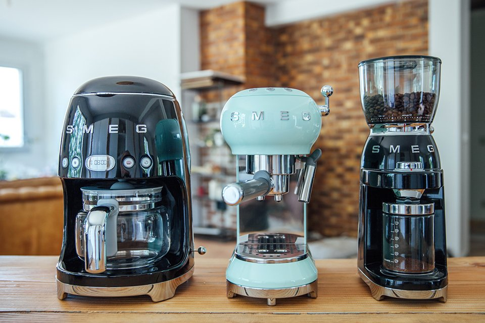 cafe smeg gamme