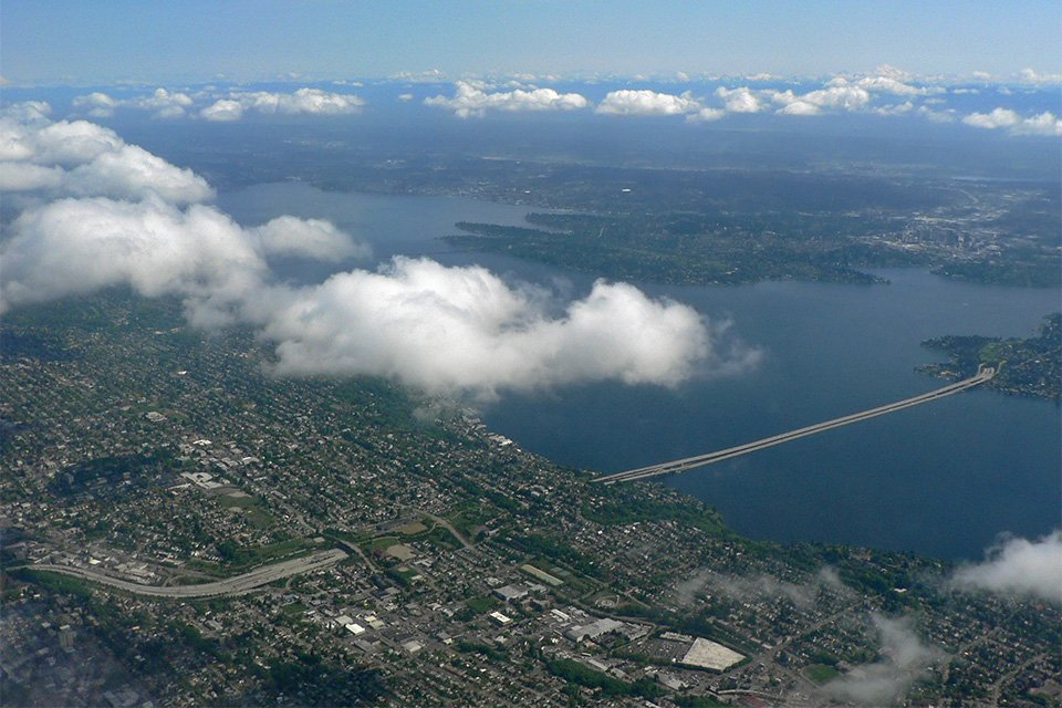Lac washington Seattle
