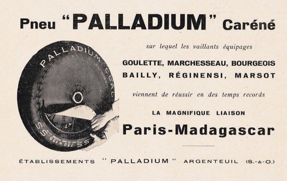 Pneu Palladium
