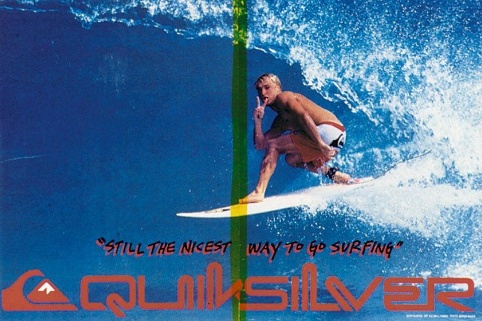 Quicksilver Affiche Surf