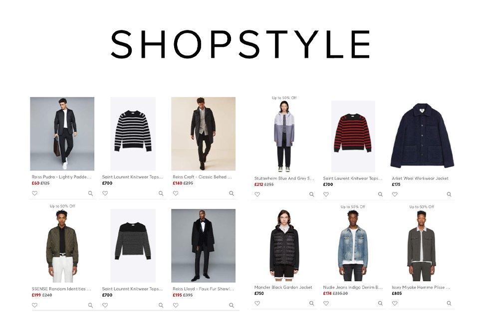Shopstyle Application