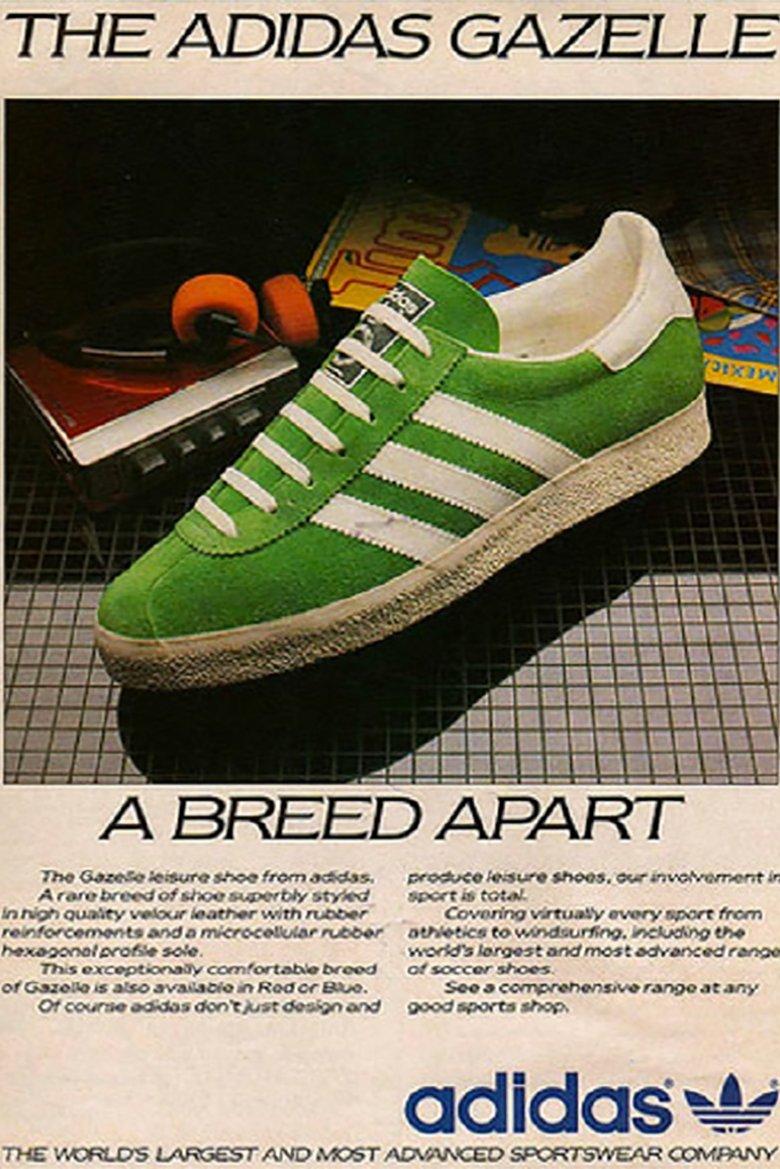 Adidas Gazelle histoire origine