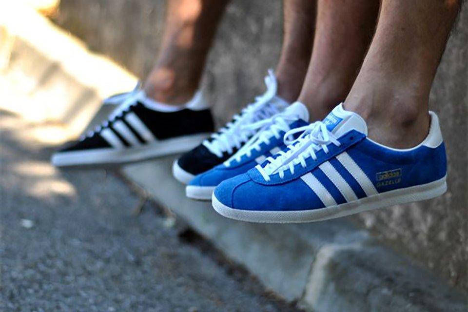 adidas gazelle homme bleu marine