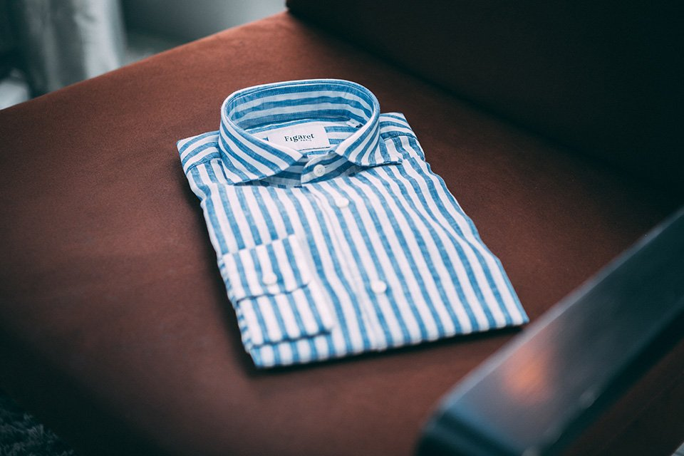Chemise Figaret lin introduction