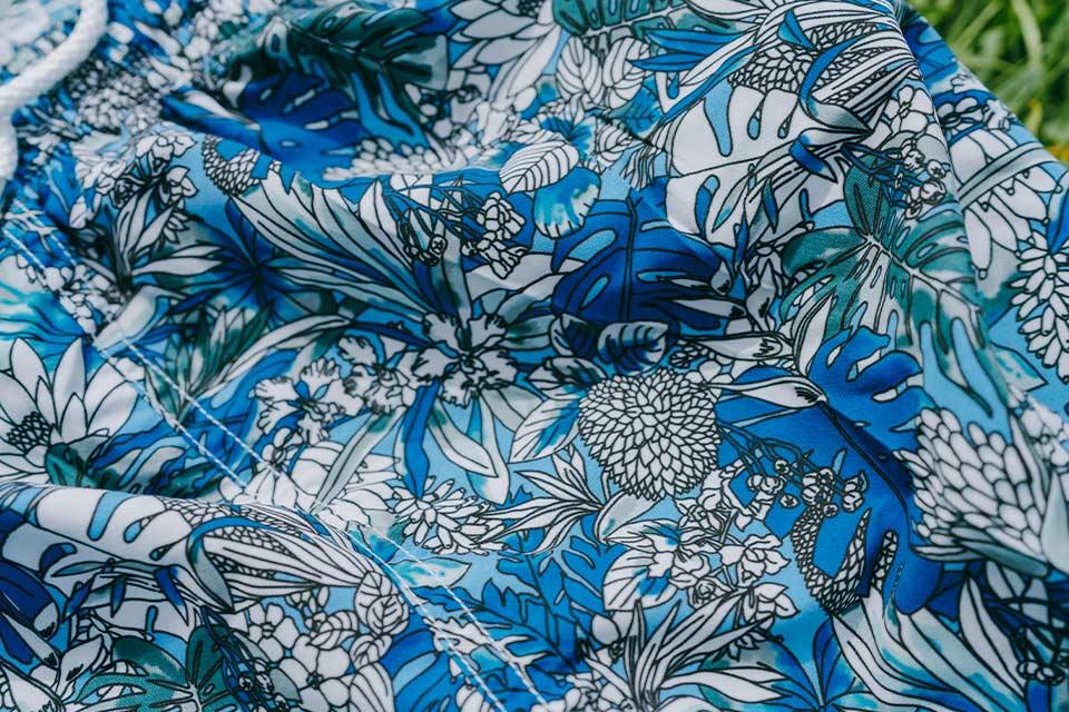 Motif Floral Maillot de Bain