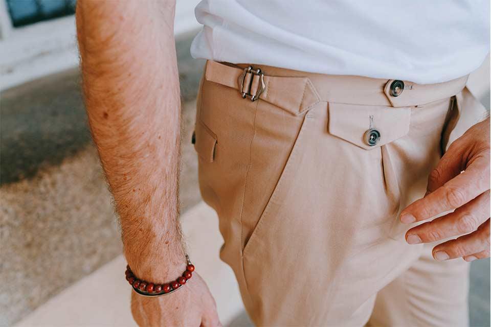 Pantalon Vintage Été