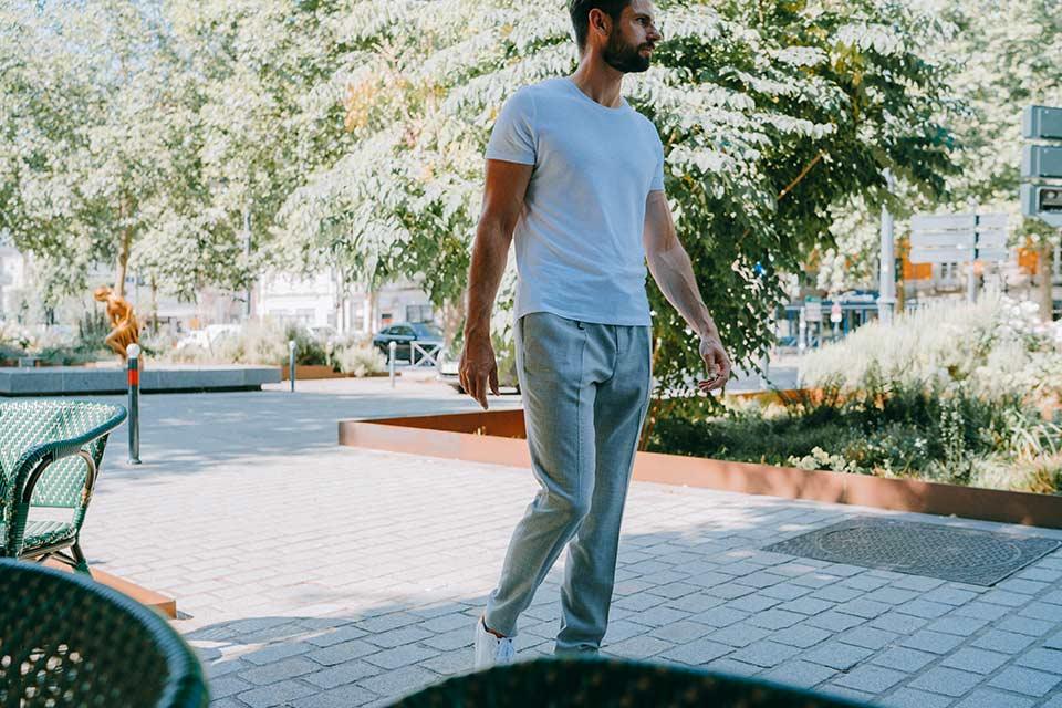 Pantalon Lin Homme