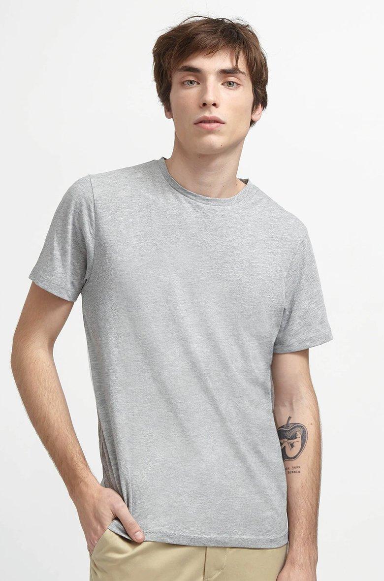 T Shirt The Initialist Gris