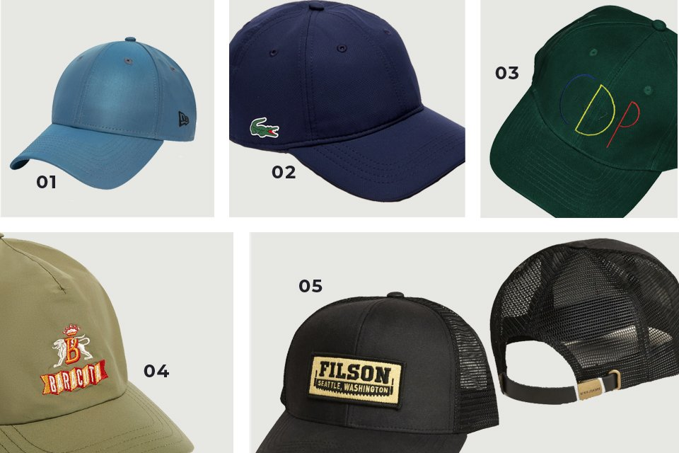 casquettes homme soldes SS20