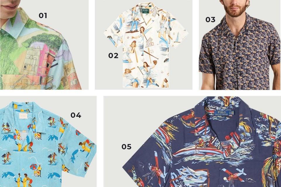 chemises hawaienne tendance