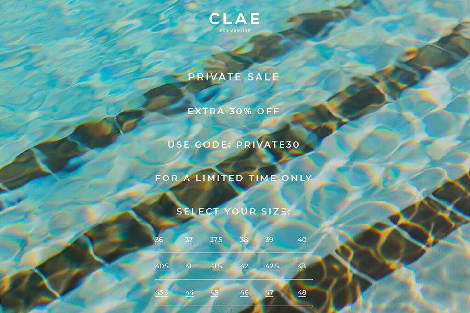code promo clae juillet 2020