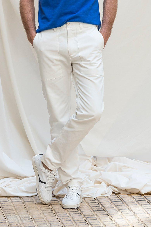 Pantalon Blanc Basus Nouvelle Prod