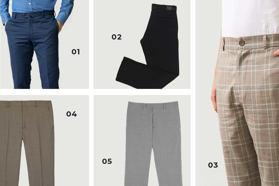 Pantalons homme soldes SS20