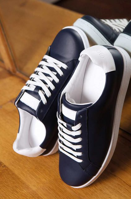 Sneakers Bleues Homme