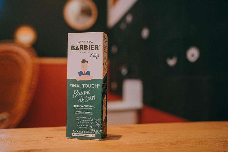Monsieur Barbier Baume Boite
