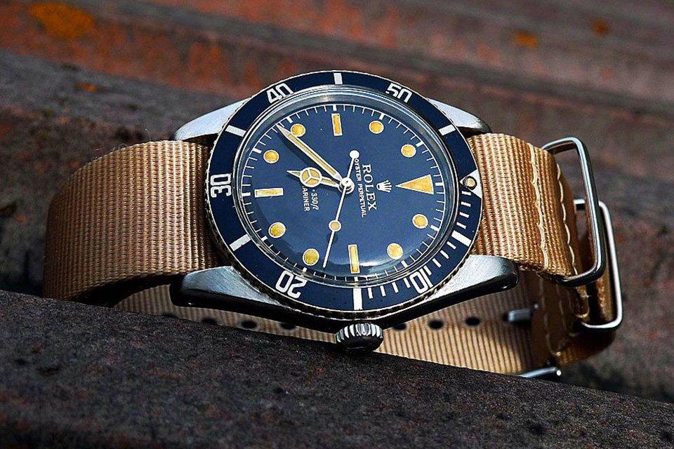 Montre Rolex submariner vintage