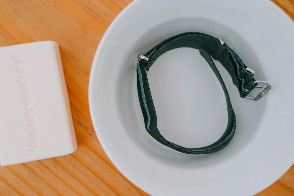 nettoyage bracelet NATO