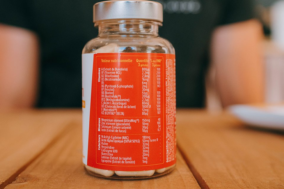 complements alimentaires nutraceutiques nutri&co test avis multivitamines composition